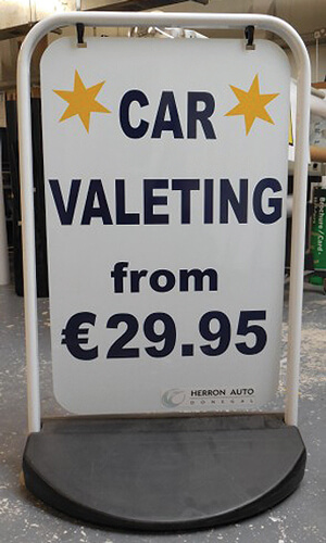 Car-Valeting-Swing-Sign