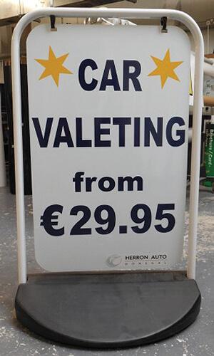 Car-Valeting-Swing-Sign
